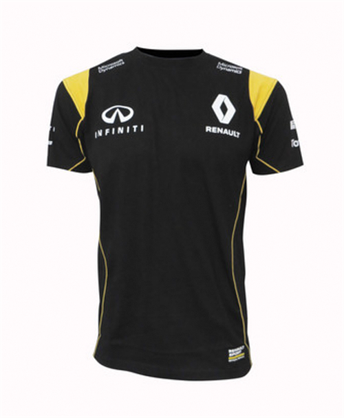 Renault T-Shirt Sort